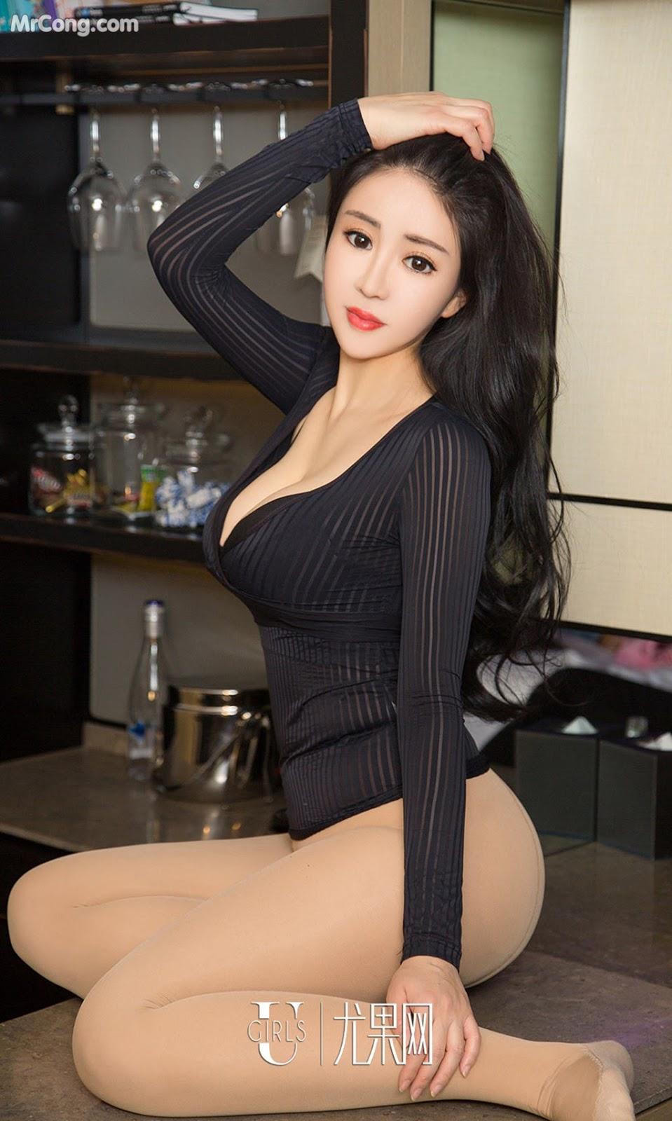 Image UGIRLS-Ai-You-Wu-App-No.963-Zhang-Yang-Yang-MrCong.com-008 in post UGIRLS – Ai You Wu App No.963: Người mẫu Zhang Yang Yang (张阳阳) (40 ảnh)