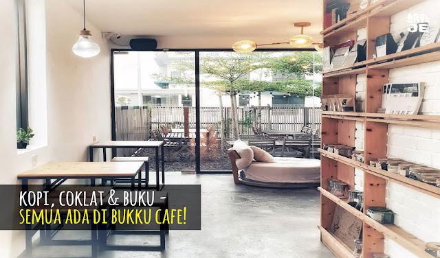 Kopi, Buku & Coklat - Menarik Betul Bukku Cafe, Bandar Bukit Raja, Klang.