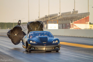 Al Anabi custom V6 powered Corvette lowers Outlaw 10.5 record to a 3.853@201.04