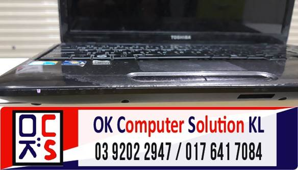 [SOLVED] MASALAH NO DISPLAY LAPTOP TOSHIBA | REPAIR LAPTOP AMPANG 1