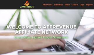 AffRevenue - Plataforma de afiliados