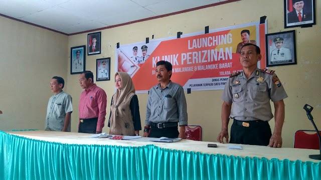 Bupati Luwu Utara Resmikan Launching Klinik   Perizinan