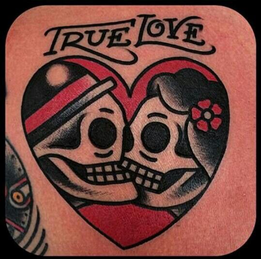 tatuajes true love de amor