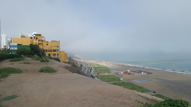 By the beach in Magdalena del Mar in Lima, Peru