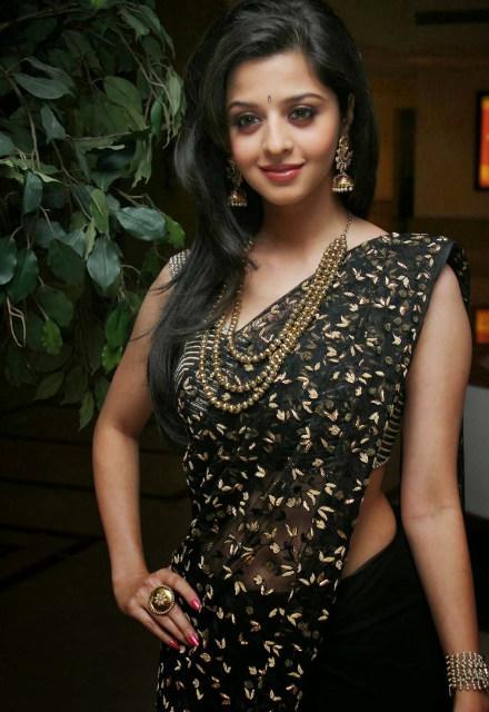 Vedika saree stills