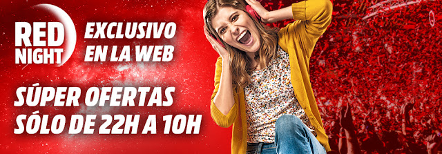 Mejores ofertas de la Red Night de Media Markt 22 agosto 2017