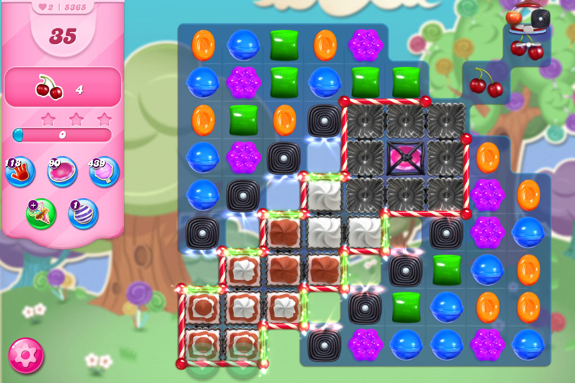 Candy Crush Saga level 5365