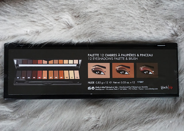 BlackUP Cosmetics Brown Nude Palette | bellanoirbeauty.com
