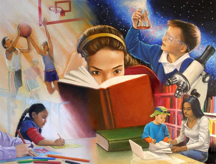 modelo para la educación en Bolivia / PINTEREST