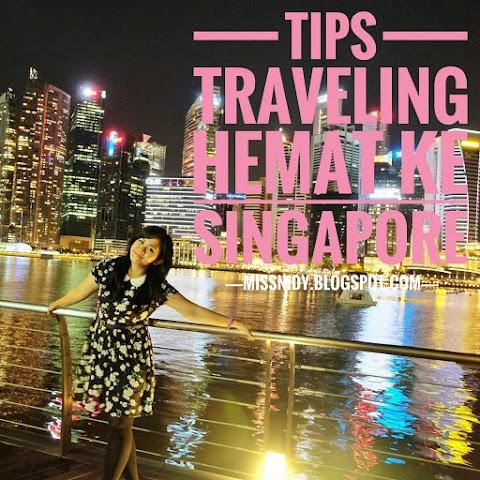 Tips Travelling Hemat ke Singapore