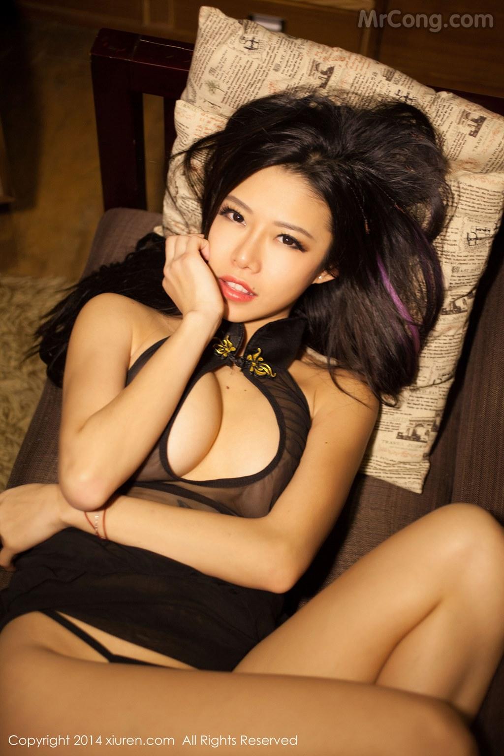 Image MrCong.com-XIUREN-No.147-Luvian-Ben-Neng-055 in post XIUREN No.147: Người mẫu Luvian (本能) (62 ảnh)
