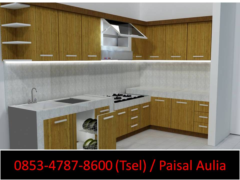 Kitchen Set Mini Bar Banjarmasin Kitchen Set Mini Bar Dapur Kecil