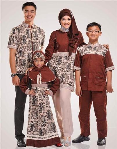 Trend model baju muslim batik sarimbit couple keluarga terbaru 2017 2018 ... 3606f041c4