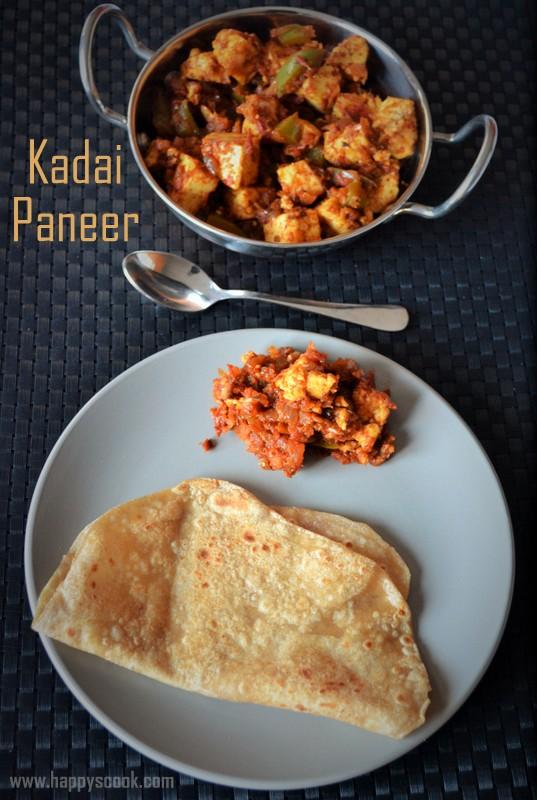 Kadai Paneer Dry Recipe | Spicy Kadai Paneer | Dry Kadai ...