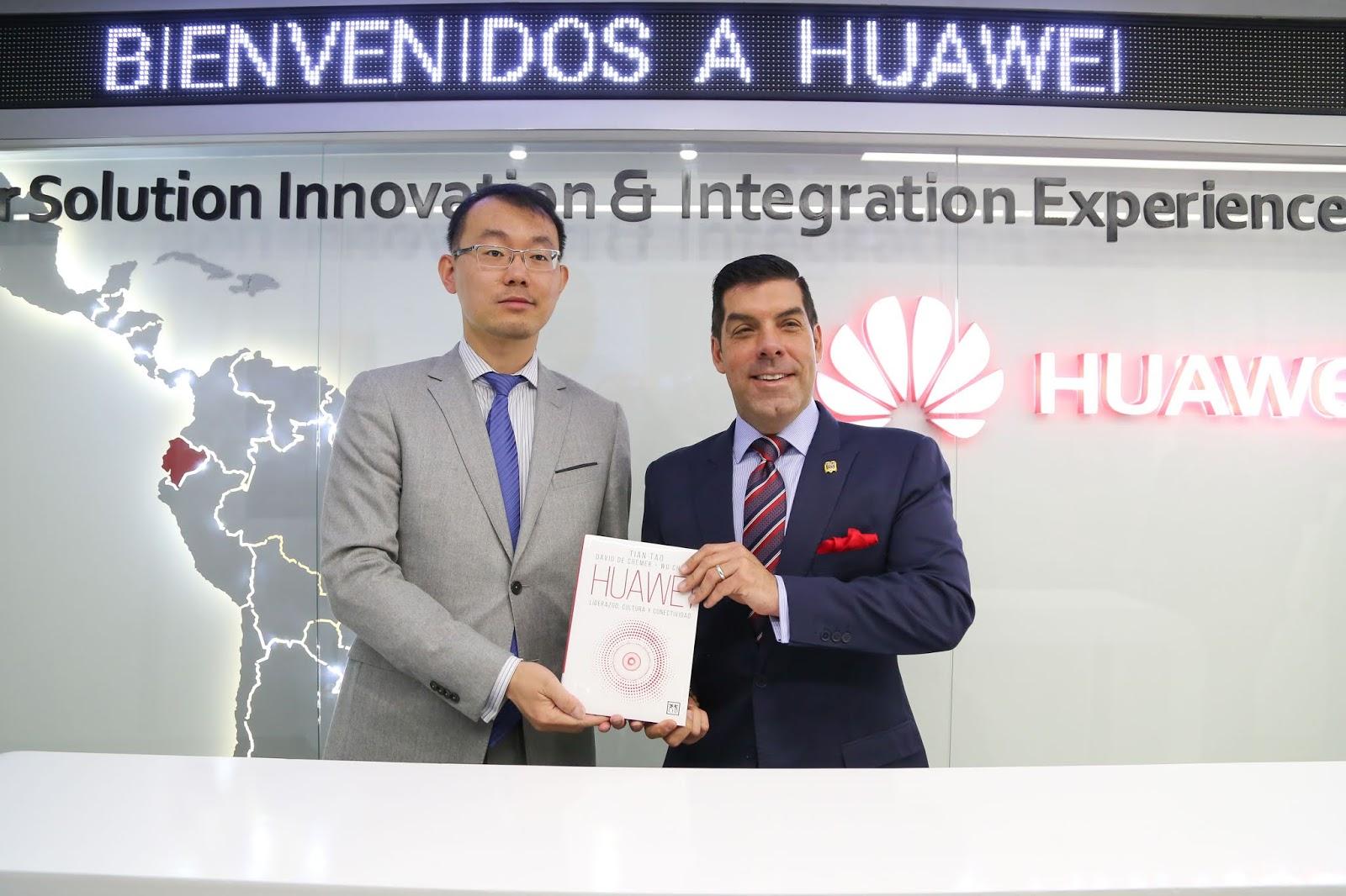 """Huawei Ecuador se une al proyecto """"Mi Primer Empleo"""""""