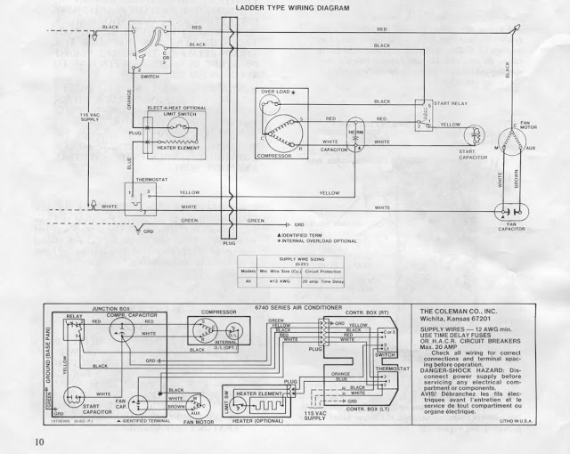 rv air conditioning wiring diagram  2003 freightliner