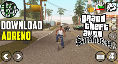 Download GTA SA Lite v9 Apk + Obb Data Android GPU Adreno Terbaru