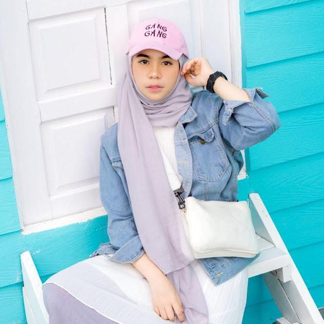 Topi Snapback kekinian yang cocok untuk hijaber