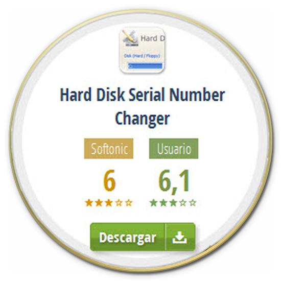 تحميل برنامج Hard Disk Serial Number لتغير لرقم السرى للقرص الصلب او الهارد دسك