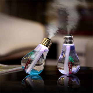 2W USB Powered Colorful Light Touch Humidifier