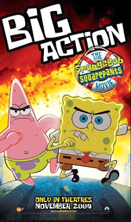 Poster Of The SpongeBob SquarePants Movie In Dual Audio Hindi English 300MB Compressed Small Size Pc Movie Free Download Only At worldfree4u.com