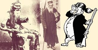 Fakir, rabbi, and politician