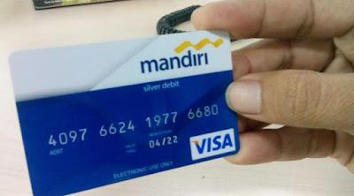 Cara Mengambil Uang Di ATM Bank Mandiri