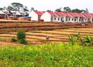 Pengaruh Konversi Lahan Pertanian ke Industri dan Pemukiman Terhadap Perubahan Ruang dan Interaksi Antarruang