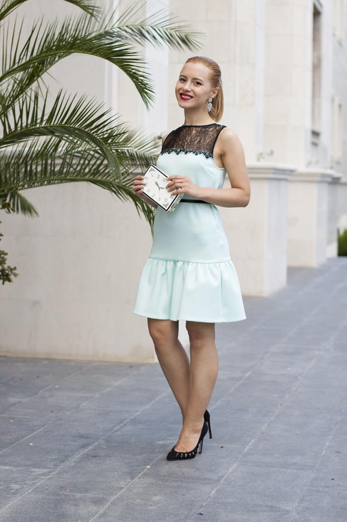 assos mint dress