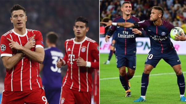 PSG vs Bayern EN VIVO por la UEFA Champions League