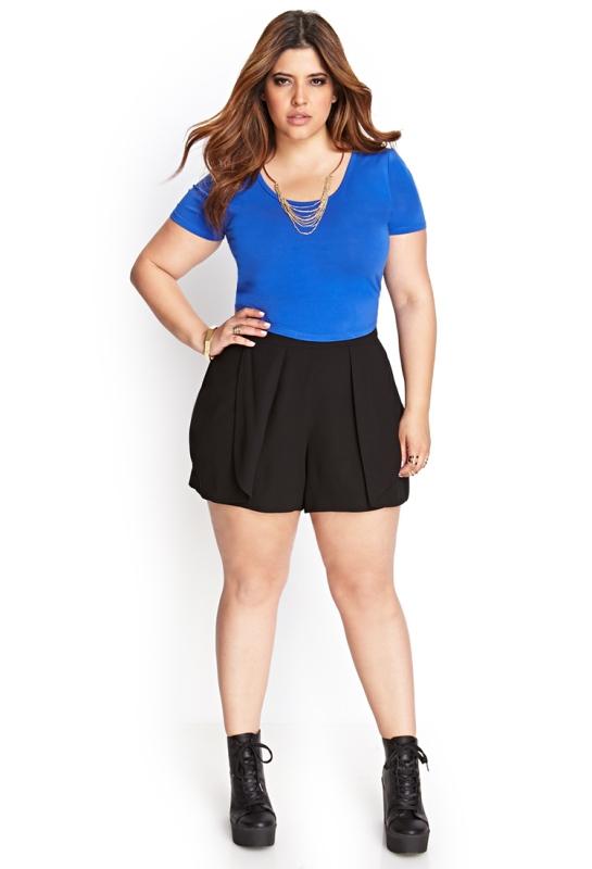 revisa e4cc3 707cd Mujer de Hoy: Pantalones cortos para gorditas