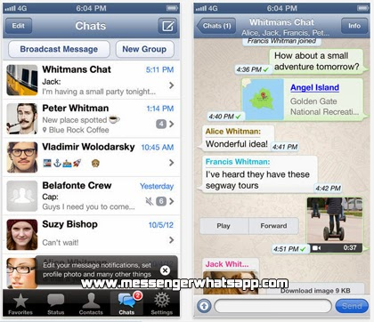 Descarga WhatsApp para el iPhone gratis