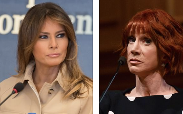 F*** you Melanie, you feckless piece of s***': Kathy Griffin goes on a shocking tirade against the First Lady and asks her to stop her husband from separating immigrant families