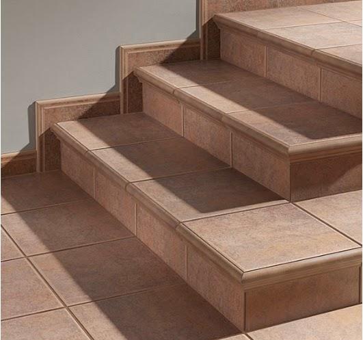 A mi manera reparar cer mica rota en los escalones for Escaleras baldosas ceramica