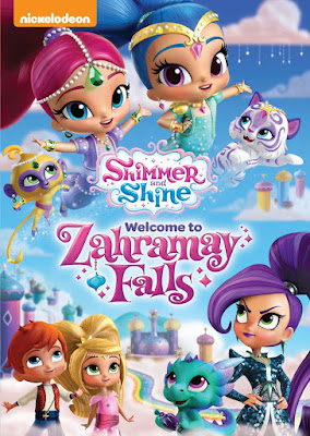 Shimmer And Shine Welcome To Zahramay Falls 2016 DVD R1 NTSC Latino