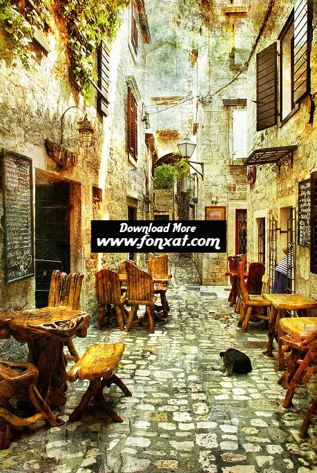 hd wallpapers : Old Streets of Greece