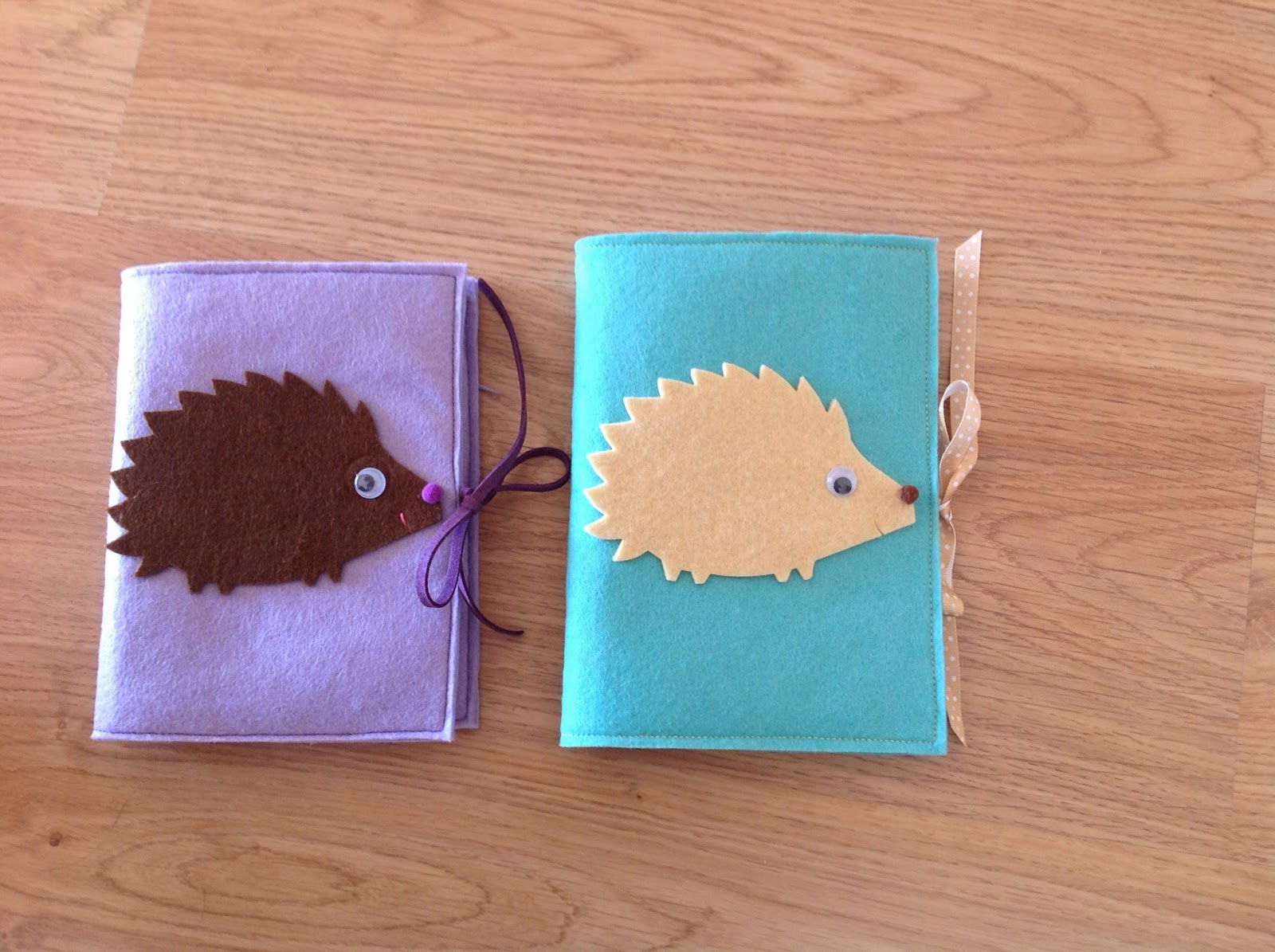 hedgehogs notebook covers