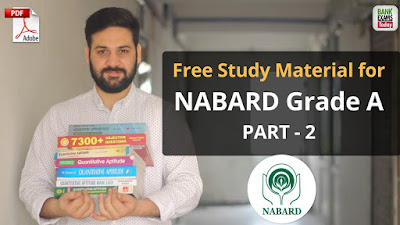 NABARD Grade A Free Study Material - Part 2