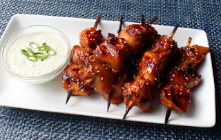 Grilled Chicken Teriyaki Skewers with Miso Ranch – A Combo Made in Heaven, and Sebastopol