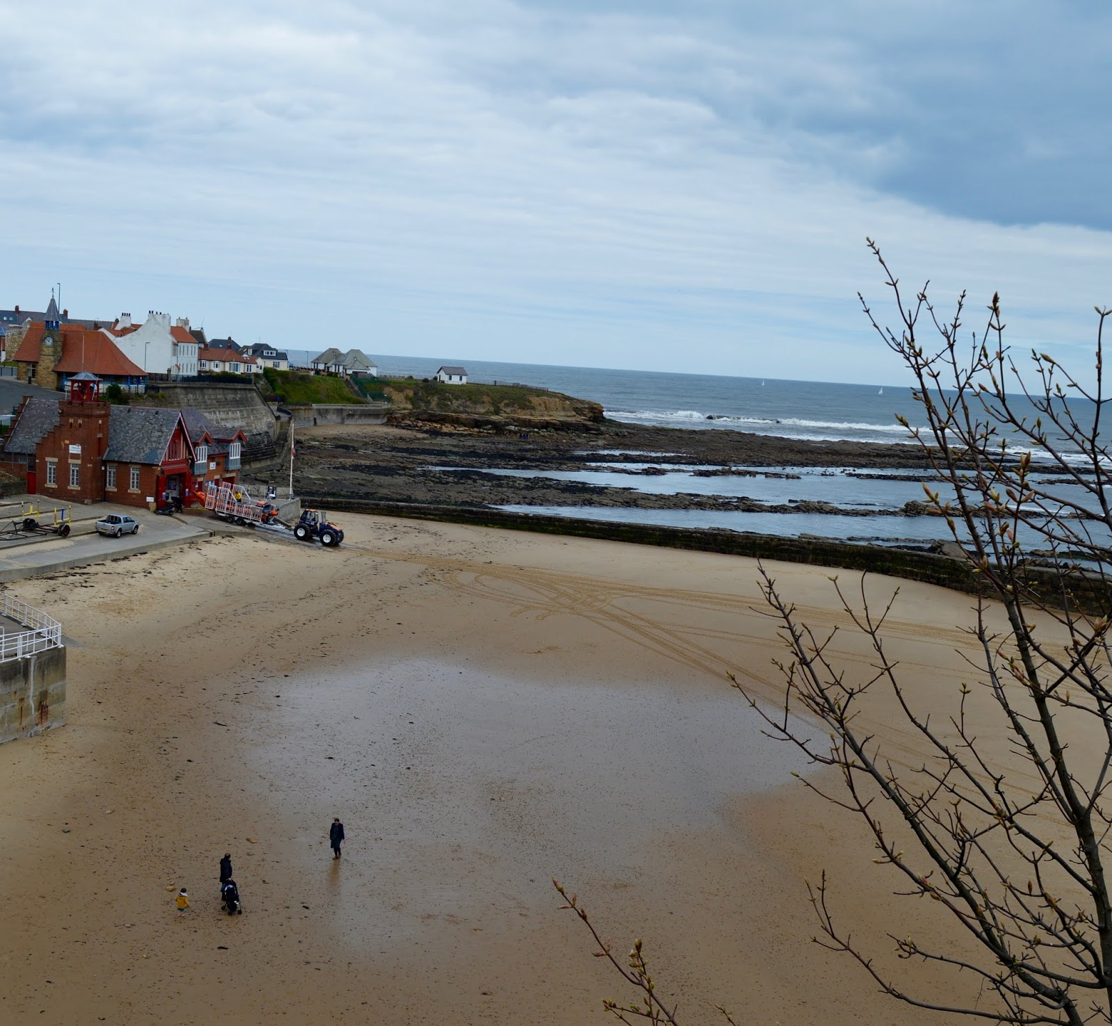 The Seasider Open Top Bus Tour Whitley Bay | Tickets, Prices, Timetables & Where To Visit - Cullercoats beach