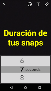 Cómo modificar la duración de tus publicaciones en Snapchat