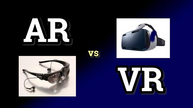 Perbedaan VR (Virtual Reality) dan AR (Augmented Reality)