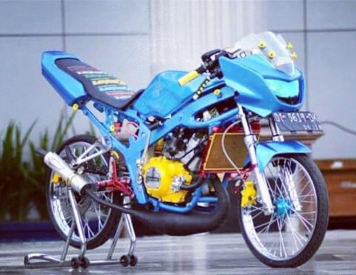Gambar Modifikasi Motor Kawasaki Ninja 150 r Versi GTX