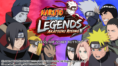 Naruto Shippuden: Legends: Akatsuki Rising PSP ISO Download for Android