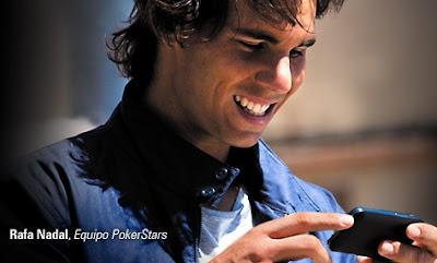 Rafa Nadal con PokerStars