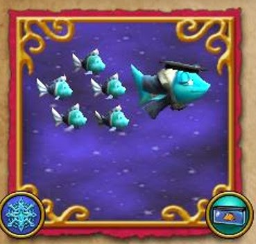 Ice School of Fish