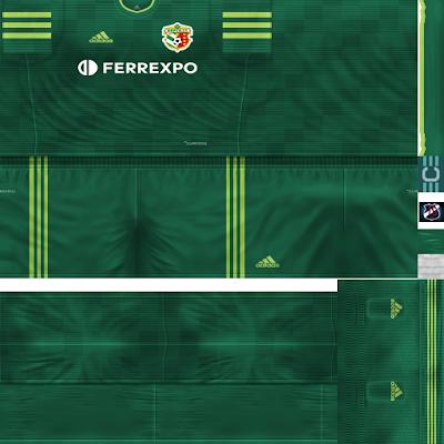 PES 6 Kits FC Vorskla Poltava Season 2018/2019 by JeremySvr