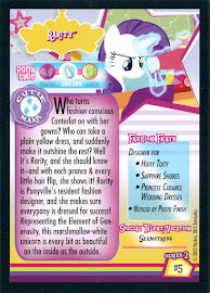 My Little Pony Rarity [Seamstress] Series 2 Trading Card