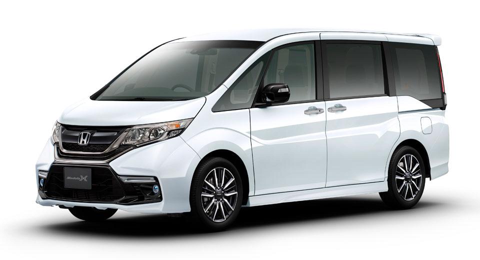 Honda S Jdm Step Wgn Minivan Gets Sportier In Modulo X Spec