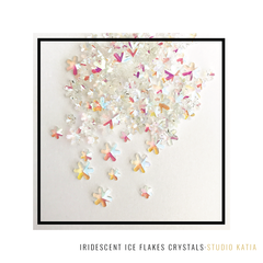 IRIDESCENT ICE FLAKES